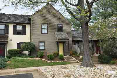 Albemarle County Townhome For Sale: 763 Exton Ct