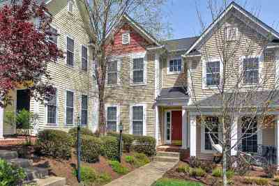 Albemarle County Townhome For Sale: 5432 Hill Top St