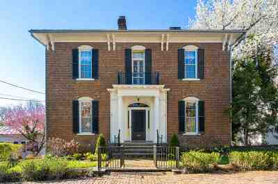 Waynesboro, Staunton Single Family Home For Sale: 316 E Beverley St