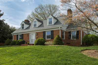 Harrisonburg Single Family Home Pending: 605 S Dogwood Dr