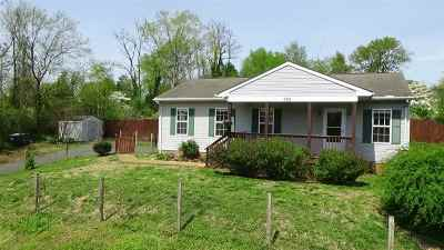 Charlottesville Single Family Home For Sale: 605 Palatine Ave