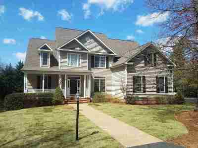 Single Family Home For Sale: 784 Earlysville Forest Dr