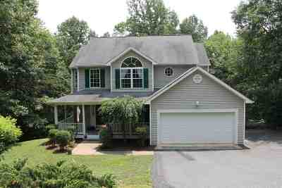 Fluvanna County Single Family Home For Sale: 55 Lafayette Dr