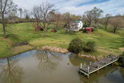 Single Family Home For Sale: 1593 Weaver Hollow Rd