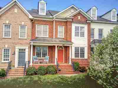 Albemarle County Townhome For Sale: 213 Grass Dale Ln