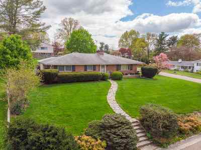 Harrisonburg City County, Harrisonburg County Single Family Home For Sale: 1194 Westmoreland Dr