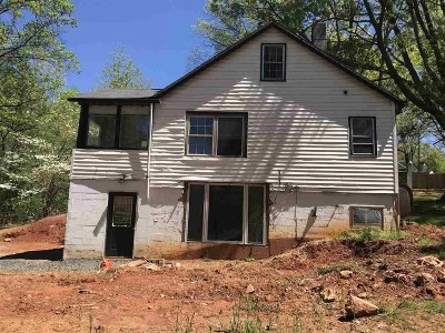 Nelson County Single Family Home For Sale: 629 Durrett Town Rd #629 Dure