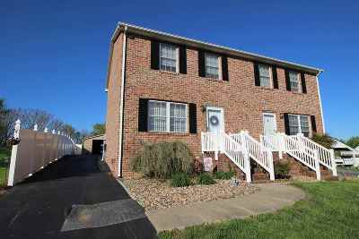 Harrisonburg Townhome For Sale: 112 Pleasant Hill Rd