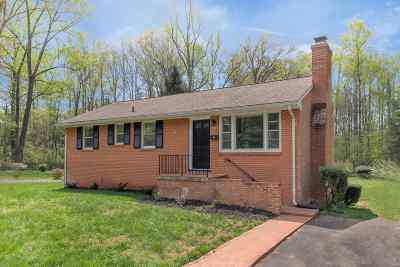 Charlottesville Single Family Home For Sale: 2740 McElroy Dr