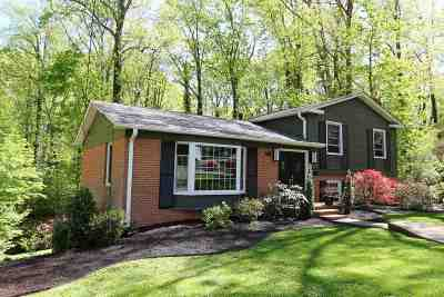 Charlottesville Single Family Home For Sale: 1526 Trailridge Rd