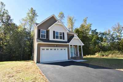 Louisa County Single Family Home For Sale: Lot 21 Daniels Run