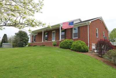 Augusta County Single Family Home For Sale: 1938 Middlebrook Rd