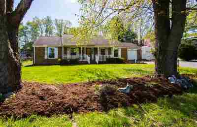 Harrisonburg Single Family Home For Sale: 1021 Greendale Rd