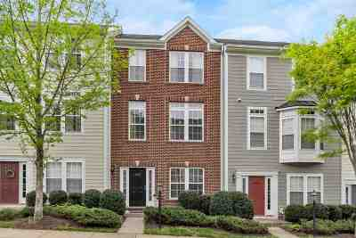 Charlottesville Townhome For Sale: 908 Bing Ln
