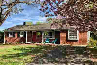 Charlottesville Single Family Home For Sale: 2302 Wakefield Rd