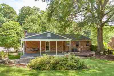 Charlottesville Single Family Home For Sale: 2239 Brandywine Dr