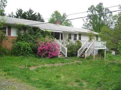 Albemarle County Single Family Home Pending: 3029 Scottsville Rd