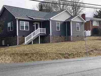 Single Family Home For Sale: 1466 Mt Clinton Pike