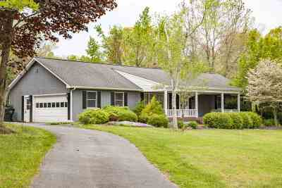 Augusta County Single Family Home For Sale: 153 Thorofare Rd