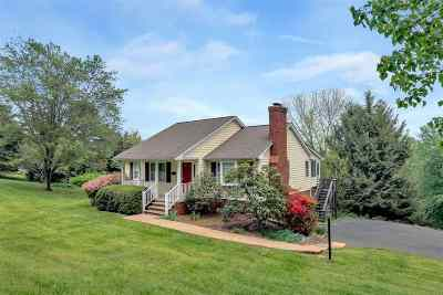 Albemarle County Single Family Home For Sale: 5847 Advance Mills Rd