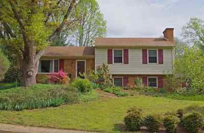 Charlottesville Single Family Home For Sale: 1949 Michael Pl