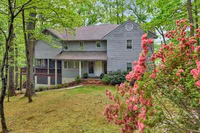 Single Family Home For Sale: 821 Gilliams Mountain Rd