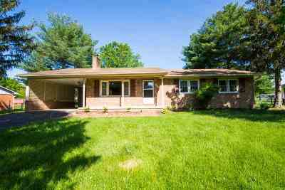 Shenandoah County Single Family Home For Sale: 9849 Massanutten Ave