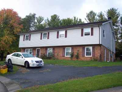 Harrisonburg Rental For Rent: 164 Westhampton Ct #B