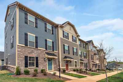 Charlottesville Townhome For Sale: 1870 Glissade Lane