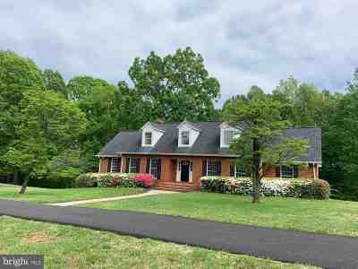 Orange County Single Family Home For Sale: 8663 Old Rapidan Rd