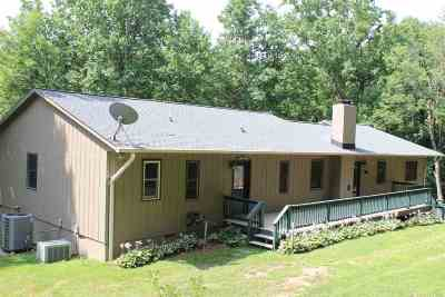 Single Family Home For Sale: 1475 Bull Yearling Rd