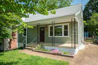 Charlottesville Single Family Home For Sale: 707 Rockland Ave