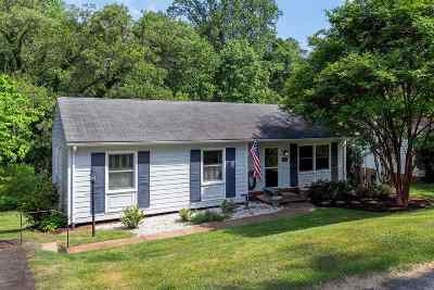 Charlottesville Single Family Home For Sale: 2212 Banbury St