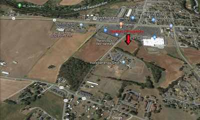 Timberville Commercial For Sale: 5.6 Acres American Legion Dr