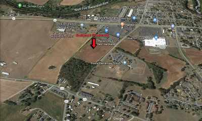 Timberville Commercial For Sale: 19.1 Acres American Legion Dr