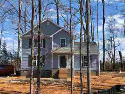 Louisa County Single Family Home For Sale: Lot 26 Whipoorwill Way