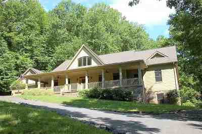 Nelson County Single Family Home For Sale: 1483 Rodes Valley Dr