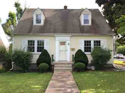 Single Family Home For Sale: 1528 Mulberry St