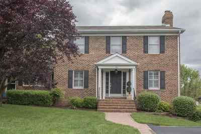 Harrisonburg Townhome For Sale: 88 Rex Rd