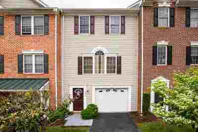 Rockingham County Townhome For Sale: 2948 Crystal Spring Ln