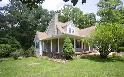Fluvanna County Single Family Home For Sale: 3981 Ruritan Lake Rd