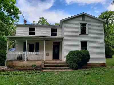 Single Family Home For Sale: 2173 James River Rd