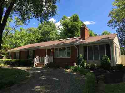 Charlottesville Single Family Home For Sale: 1741 Concord Dr