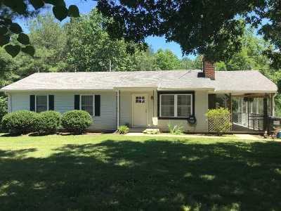Palmyra Single Family Home For Sale: 2172 Shiloh Church Rd