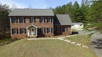 Earlysville Single Family Home For Sale: 4160 Bleak House Rd
