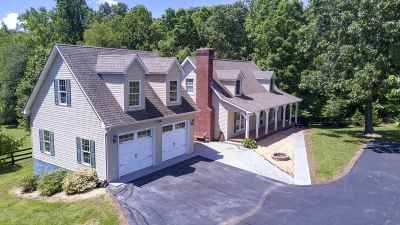 Albemarle County Single Family Home Pending: 790 & 788 Half Mile Branch Rd