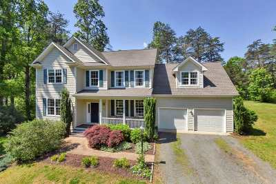 Charlottesville Single Family Home For Sale: 3611 Preddy Creek Rd