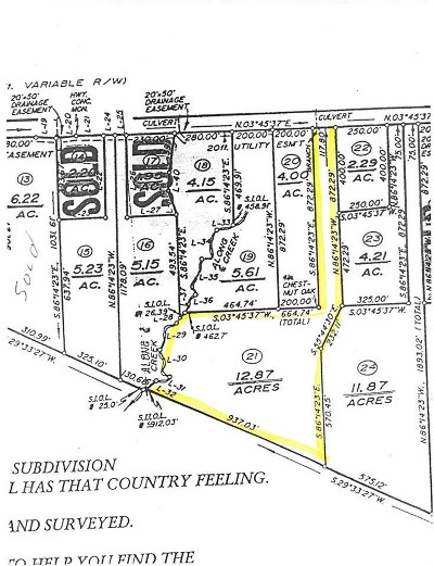 Buckingham County Lots & Land For Sale: Lot 21 S Constitution Way