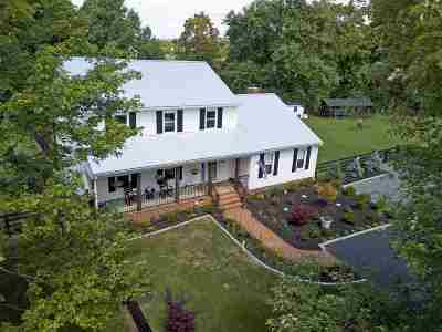 Charlottesville Single Family Home For Sale: 2700 Dunromin Rd