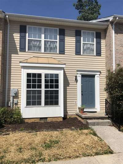 Harrisonburg Townhome For Sale: 653 Stonewall Dr